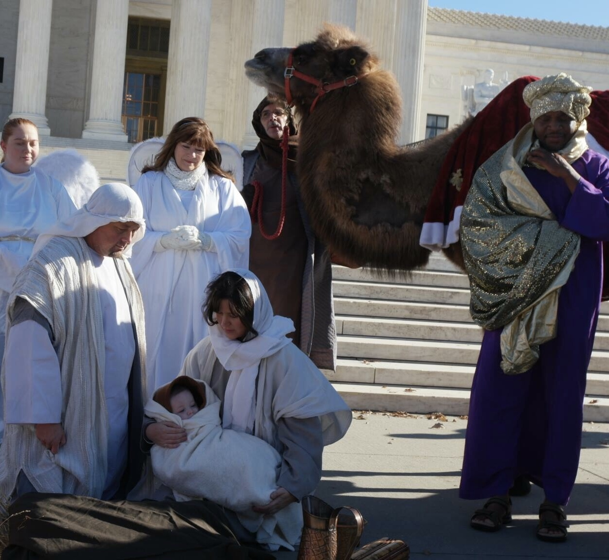 Live Nativity U.S. Capitol Washington, DC
