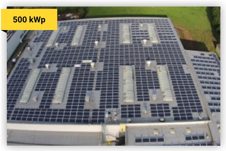 Solaranlage 500 kWp