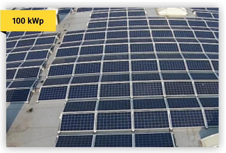 Solaranlage 100 kWp