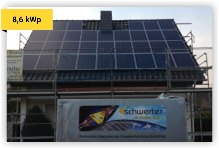 Solaranlage 8,6 kWp