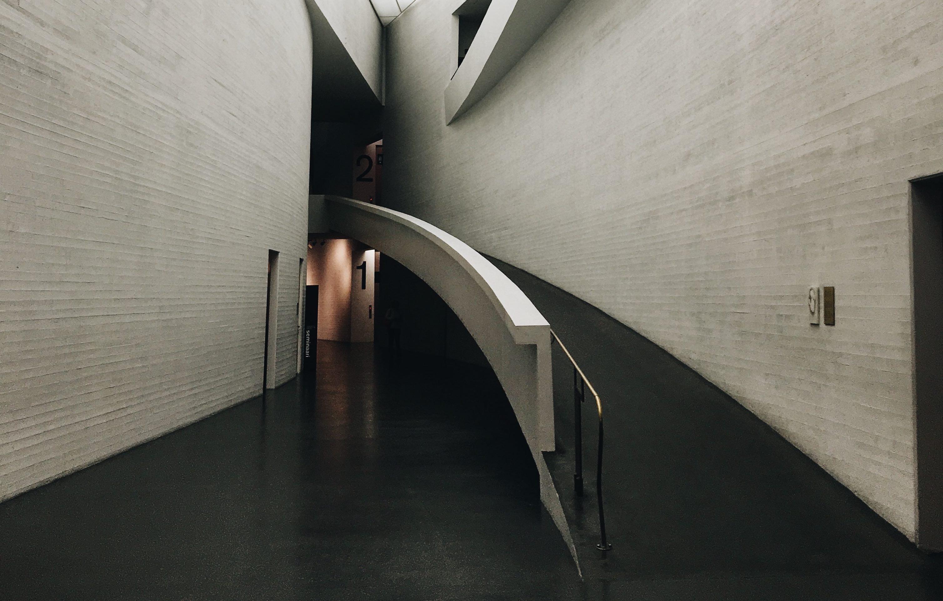 Billede indefra Kiasama Museum i Finland.