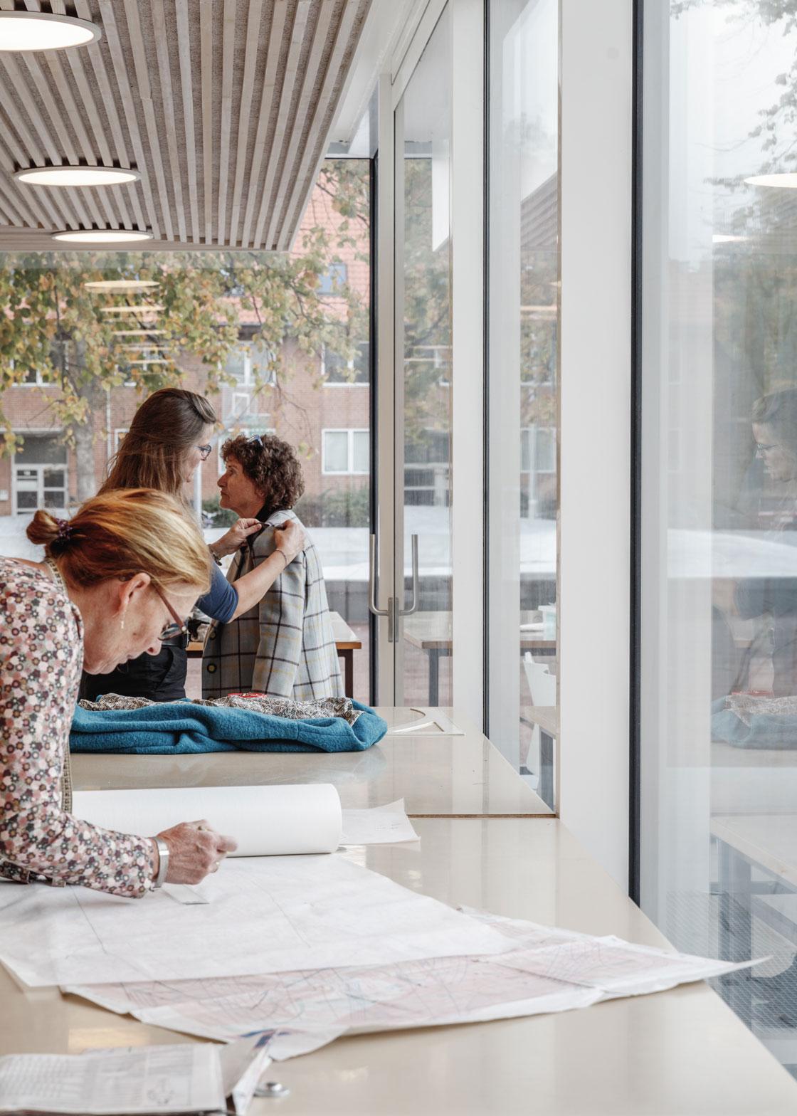 Kunstens Hus forsyner lokalsamfundet et rum til at praktisere kunst og udstillinger
