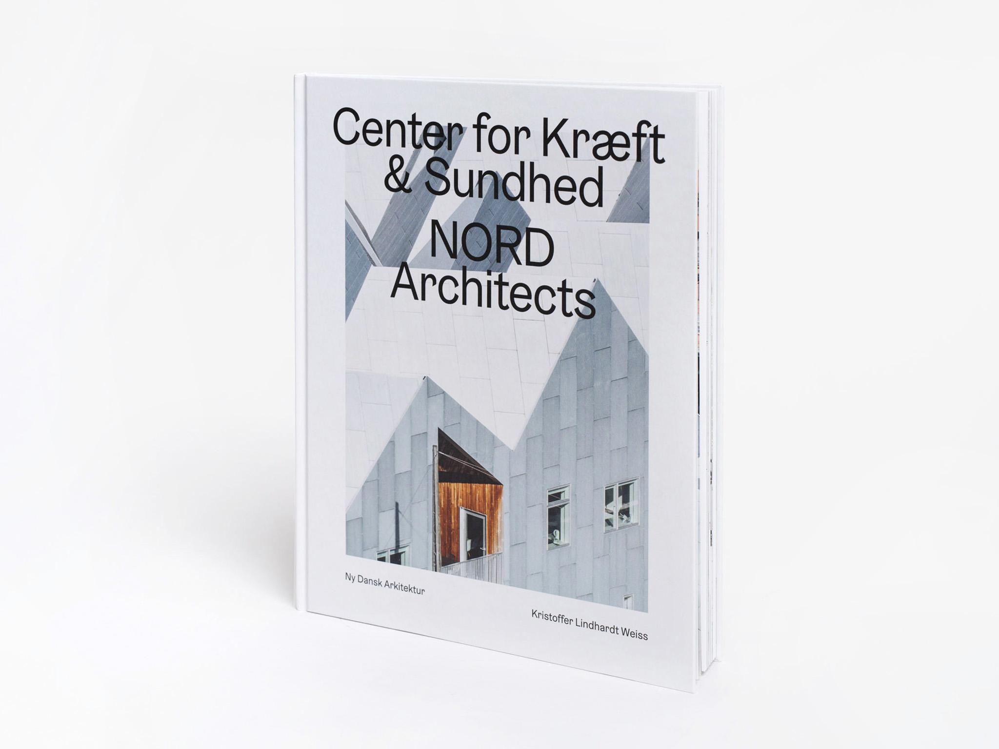 Bogen Ny Dansk Arkitektur omhandlende Center for Kræft og Sundhed