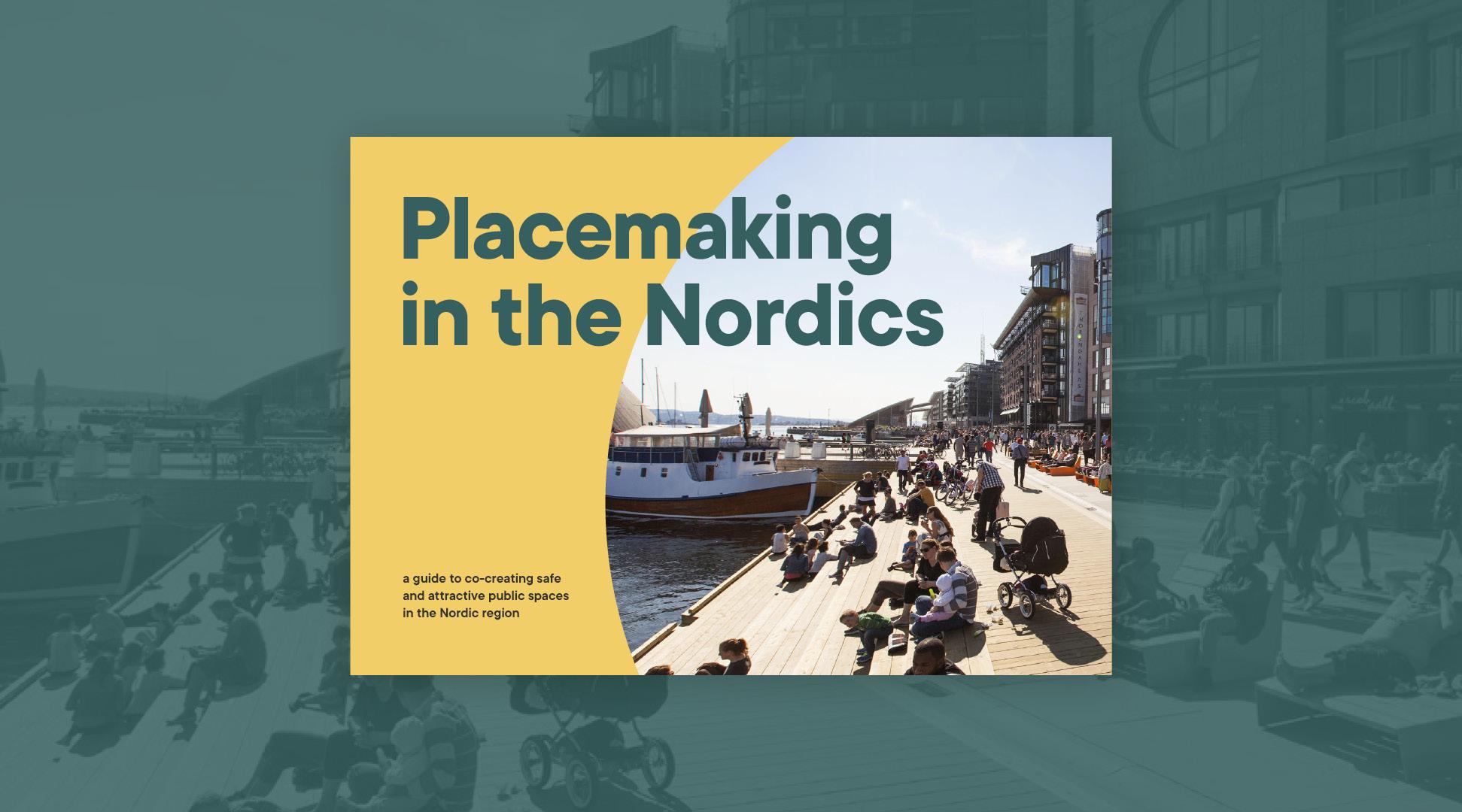 Forsiden af den digitale udgivelse Placemaking in the Nordics