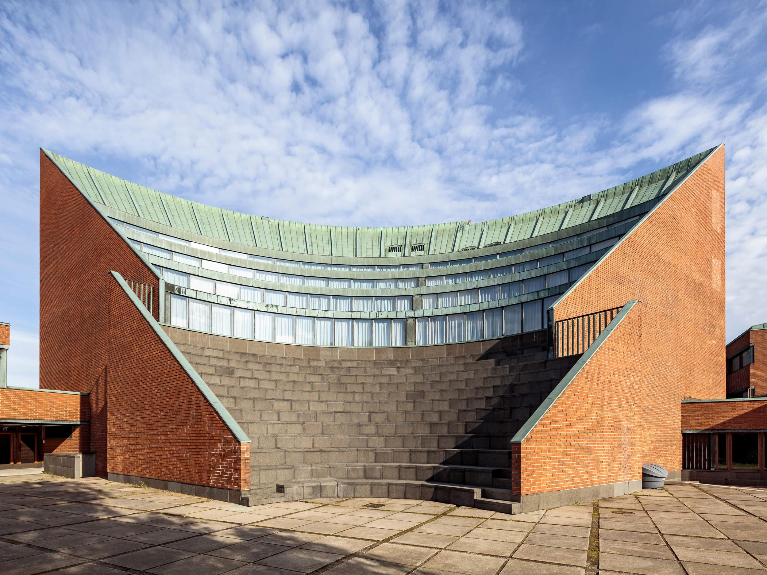 Aalto Universitetet lidt uden for Helsinki i Finland.