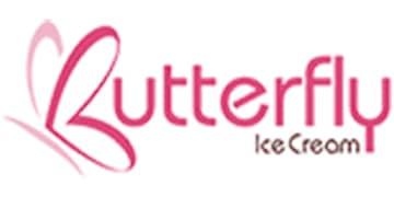 Butterfly Ice Cream Logo