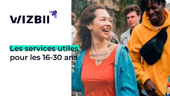 Wizbii, les services utiles pour les 16-30 ans