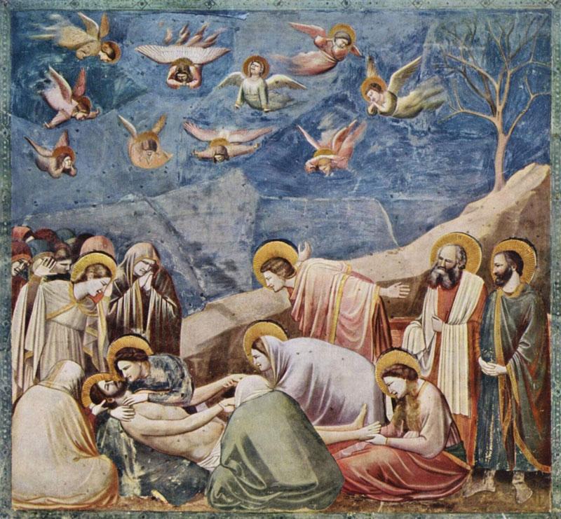 Giotto, The Lamentation