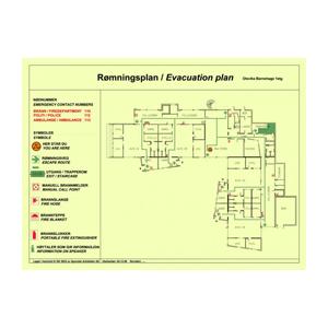 Evakueringsplaner