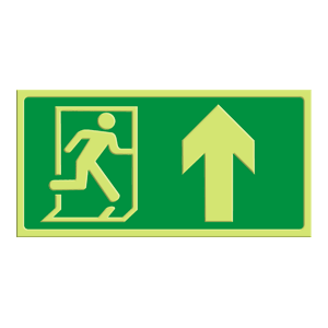 Exit - pil rett opp