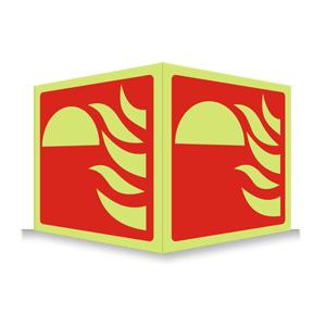 Brannutstyr - Plogskilt