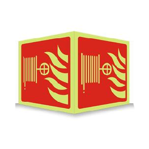 Brannslange - Plogskilt