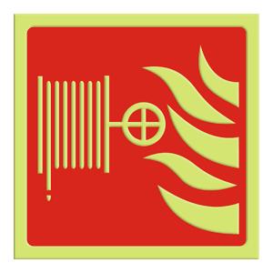 Brannslange - Flatskilt