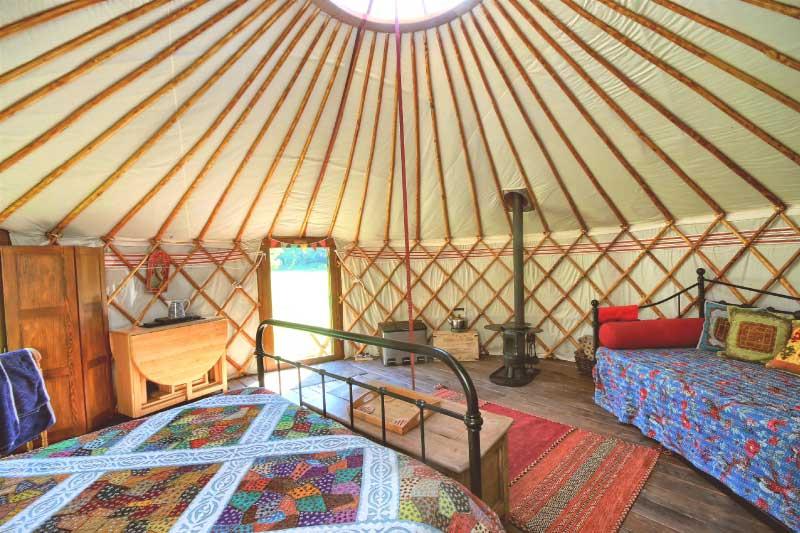 Swan Cottage Living Room Area
