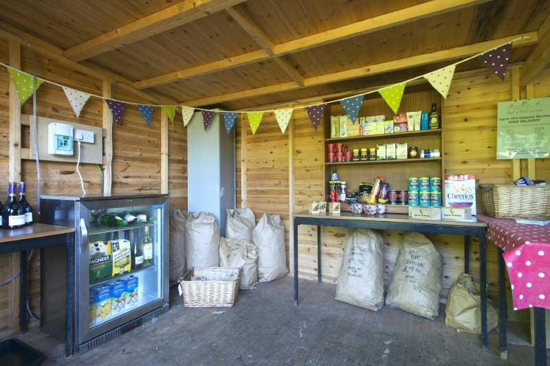 supplies shack at swallowtails