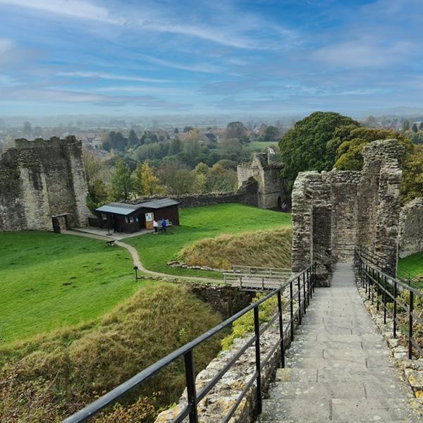 Pickering Castle North Yorkshire