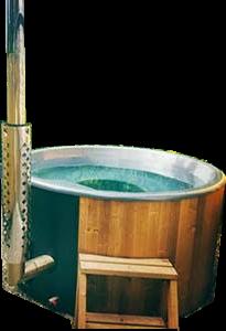 NEW wood fired Hot Tub