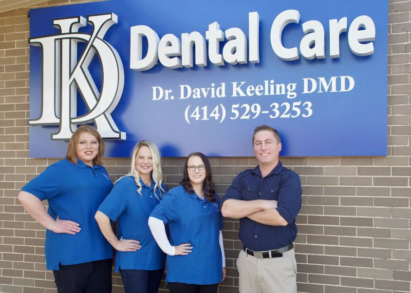 The DK Dental Care office front