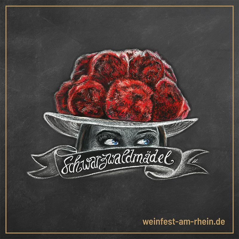Social Media Post - Weinfest am Rhein