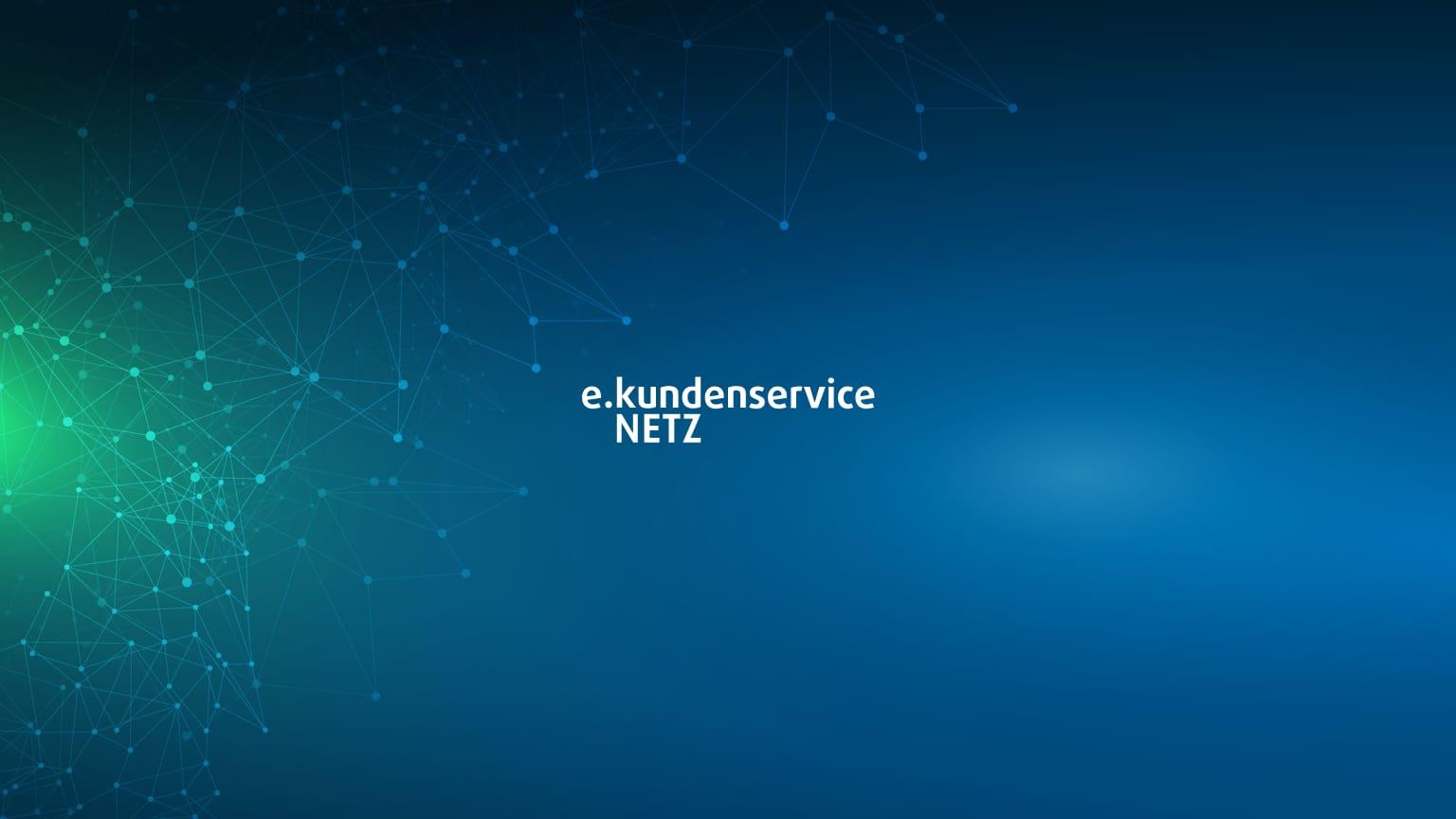 Touchscreen Intro - e.kundenservice Netz