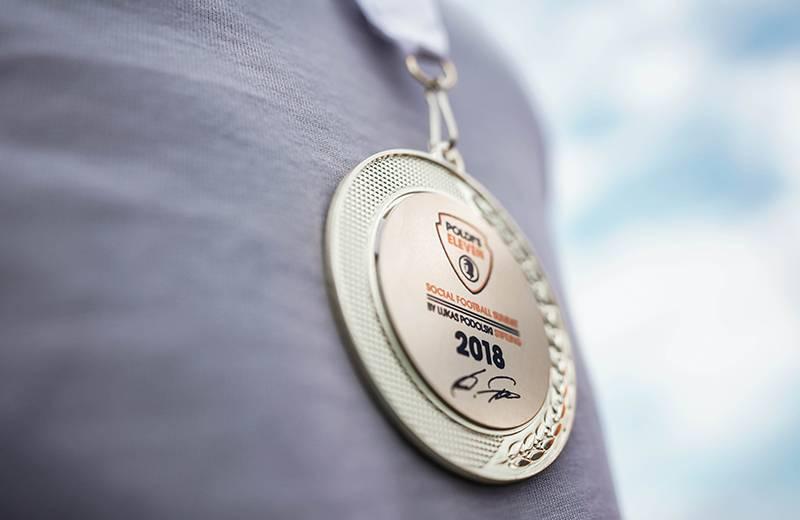 Foto Medaille - Poldi's Eleven