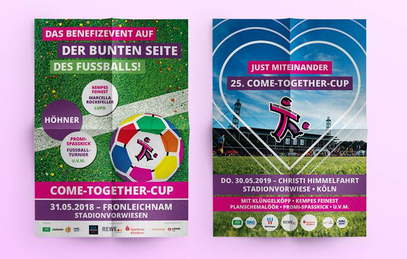 Plakat - COME-TOGETHER-CUP