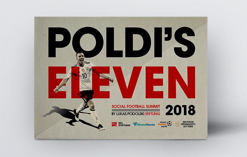 Keyvisual Poldi's Eleven