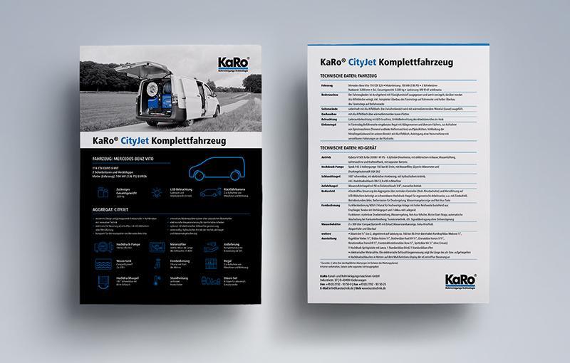 Produktblätter Print Design - KaRo