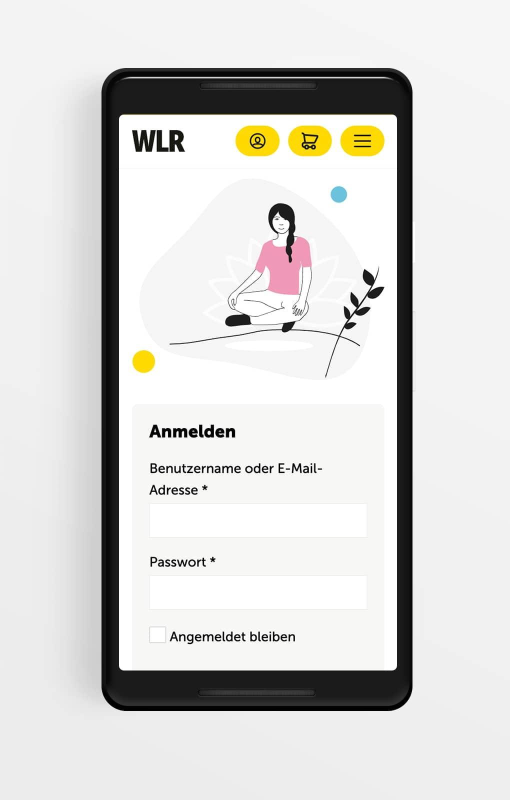 Startseite Mobile - Work Life Romance