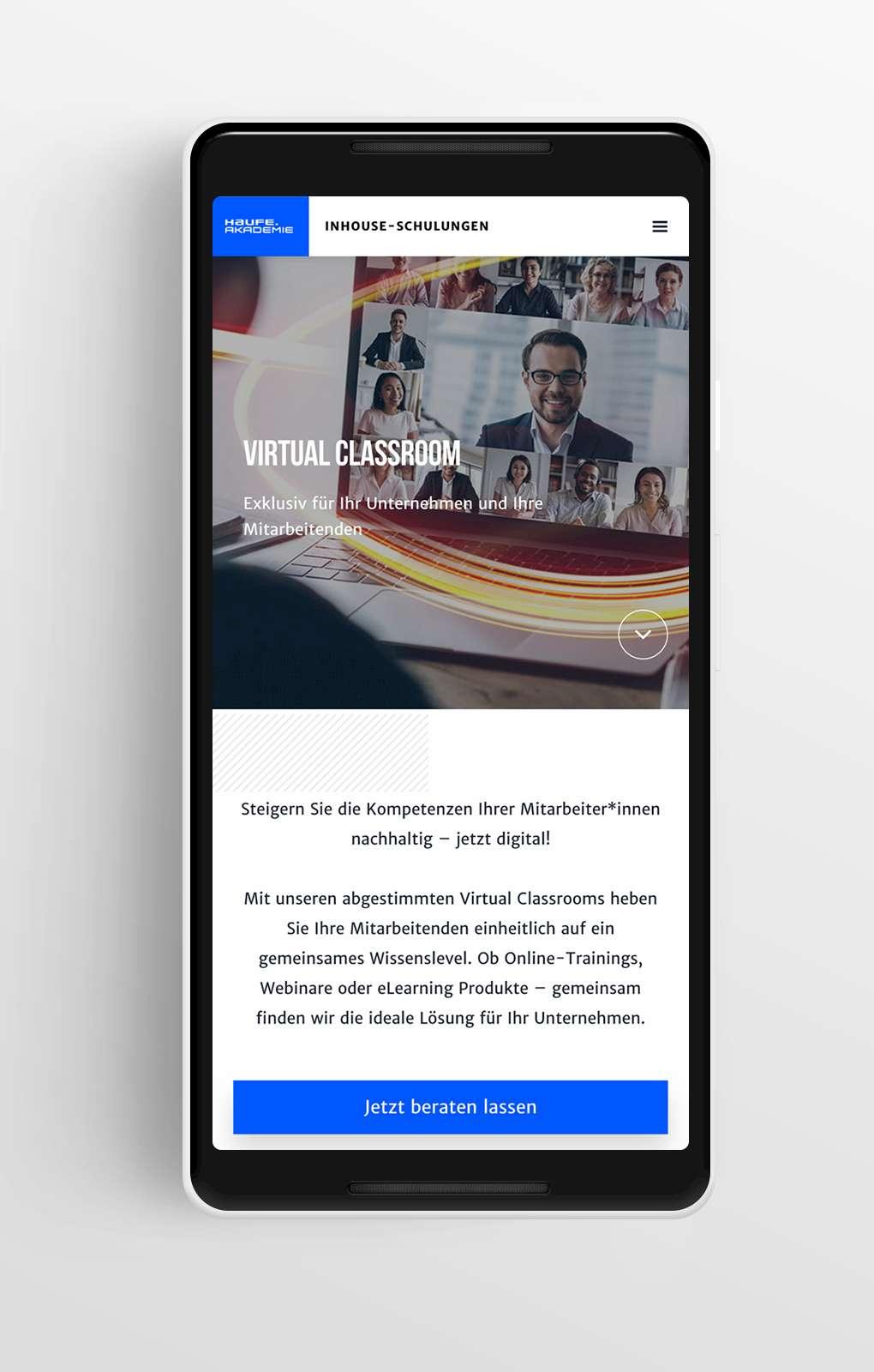 Startseite Mobile - Haufe - Inhouse Schulungen