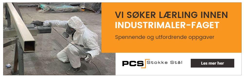 PCS Stokke Stål søker lærling i Industrimalerfaget