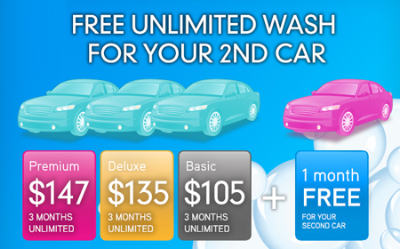 May Madness - Unlimited Wash Offer