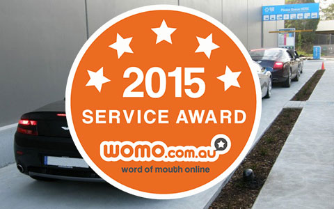 Womo 2015 Service Award