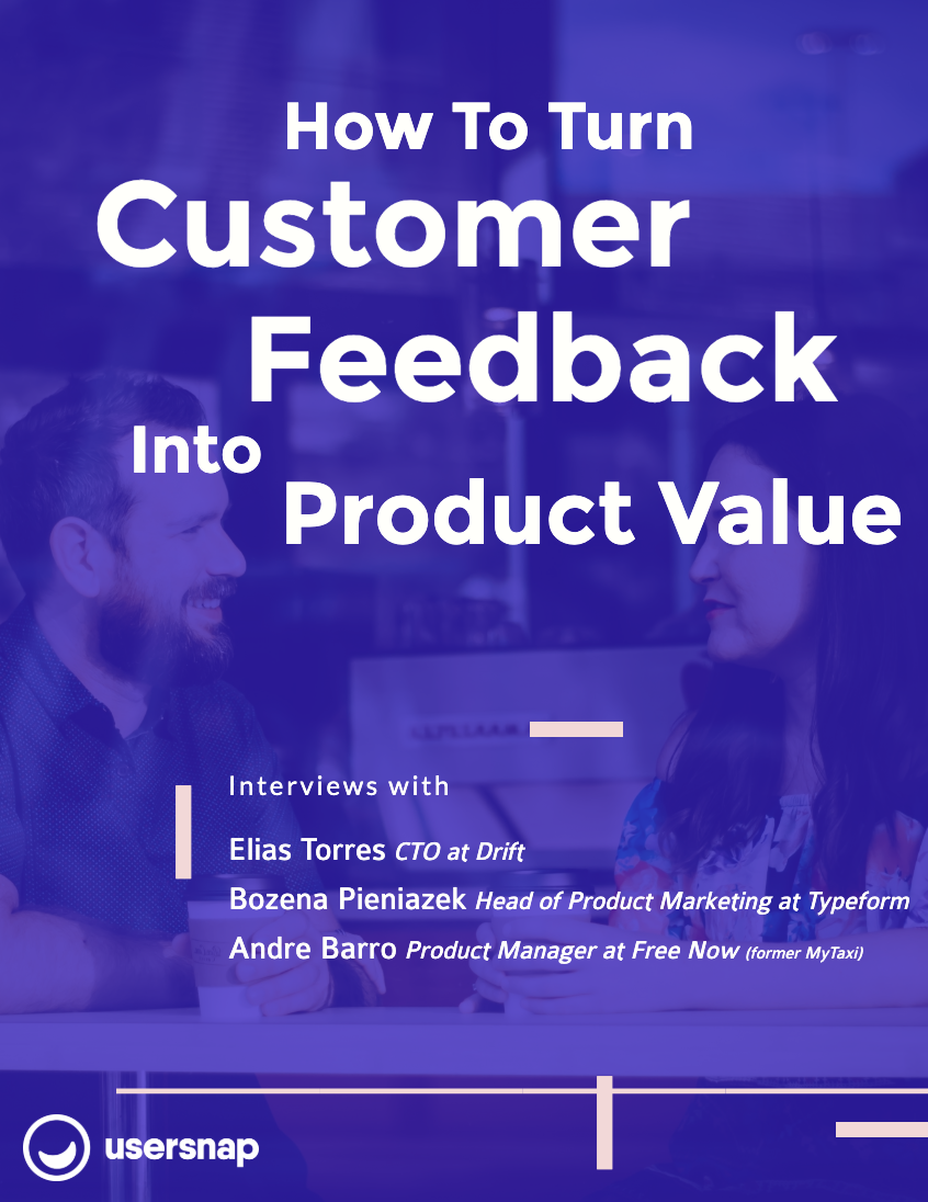 e-book: customer feedback
