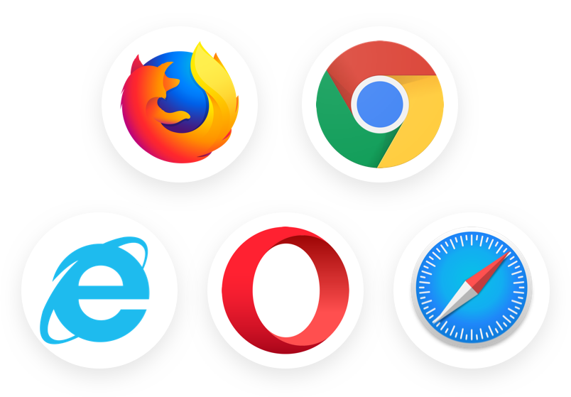 use various browsers