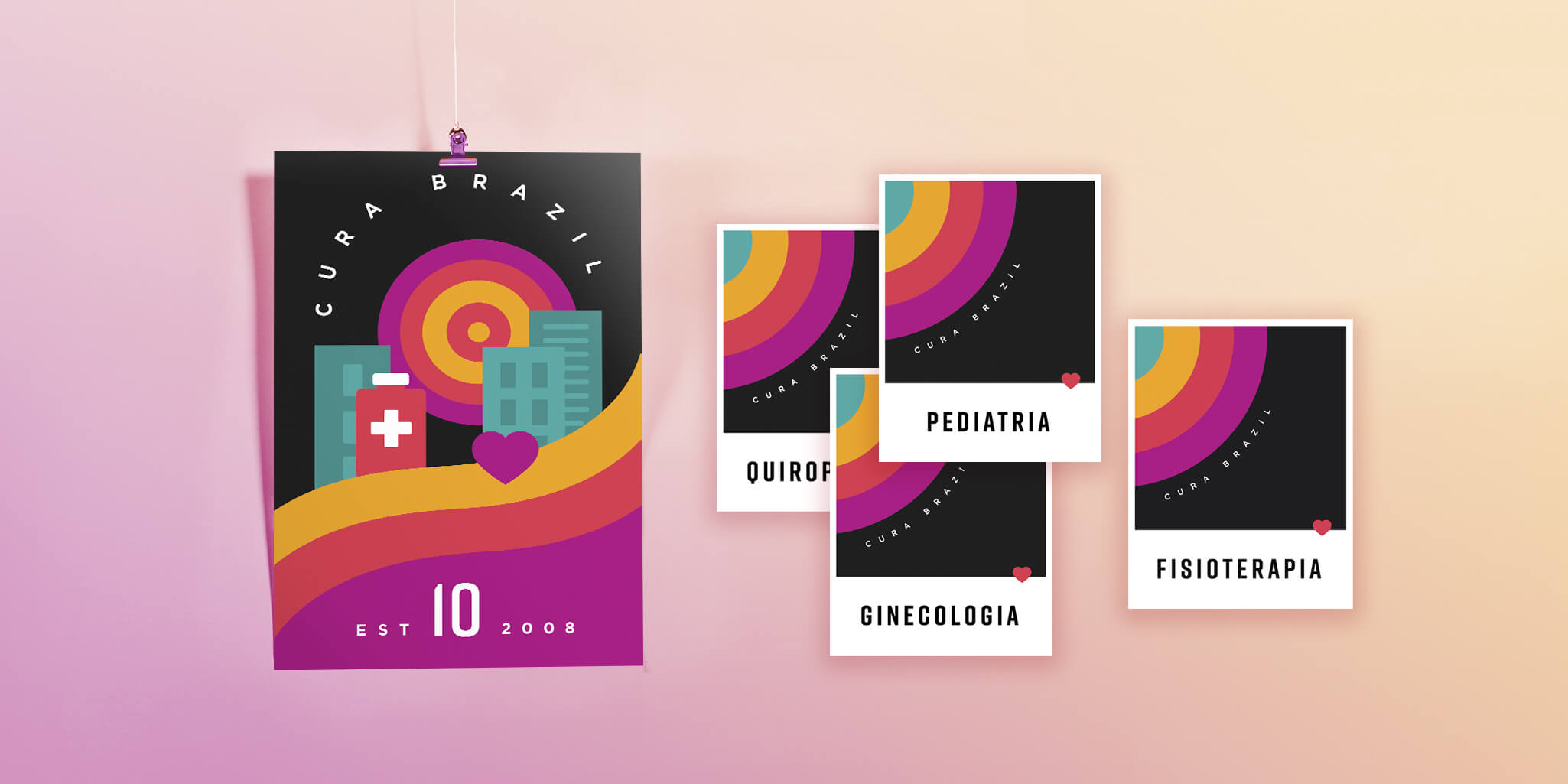 CURA Brazil Posters
