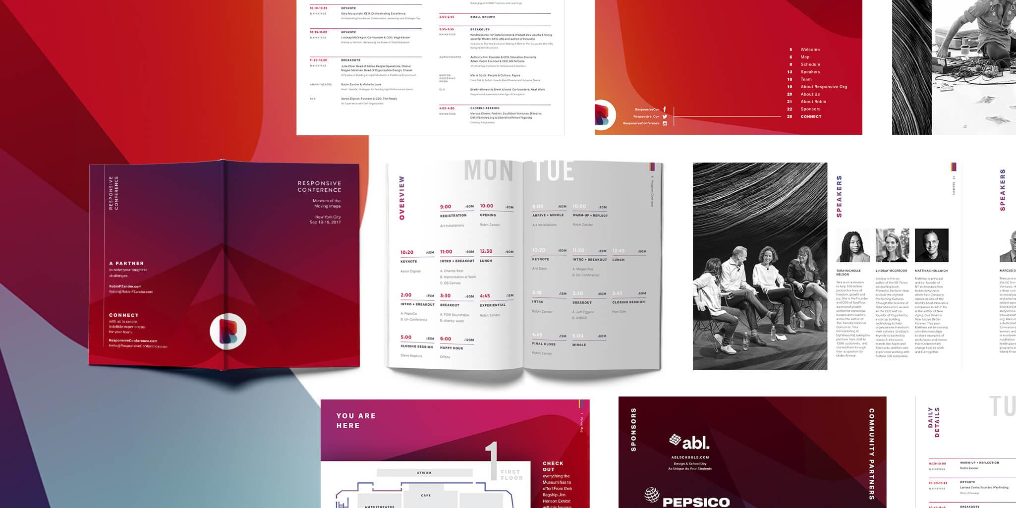 responsive conference program design