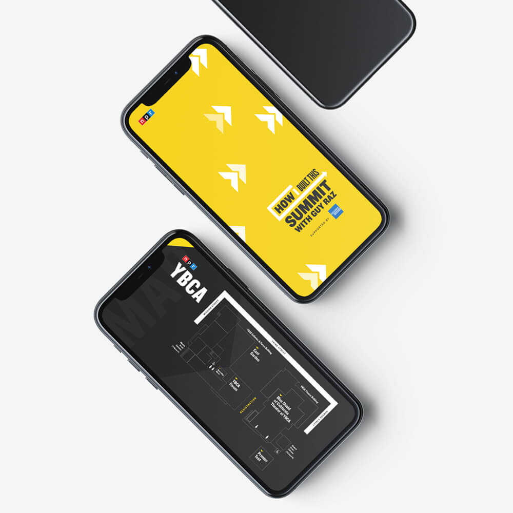 Iphone App Screen Designs for HIBTS