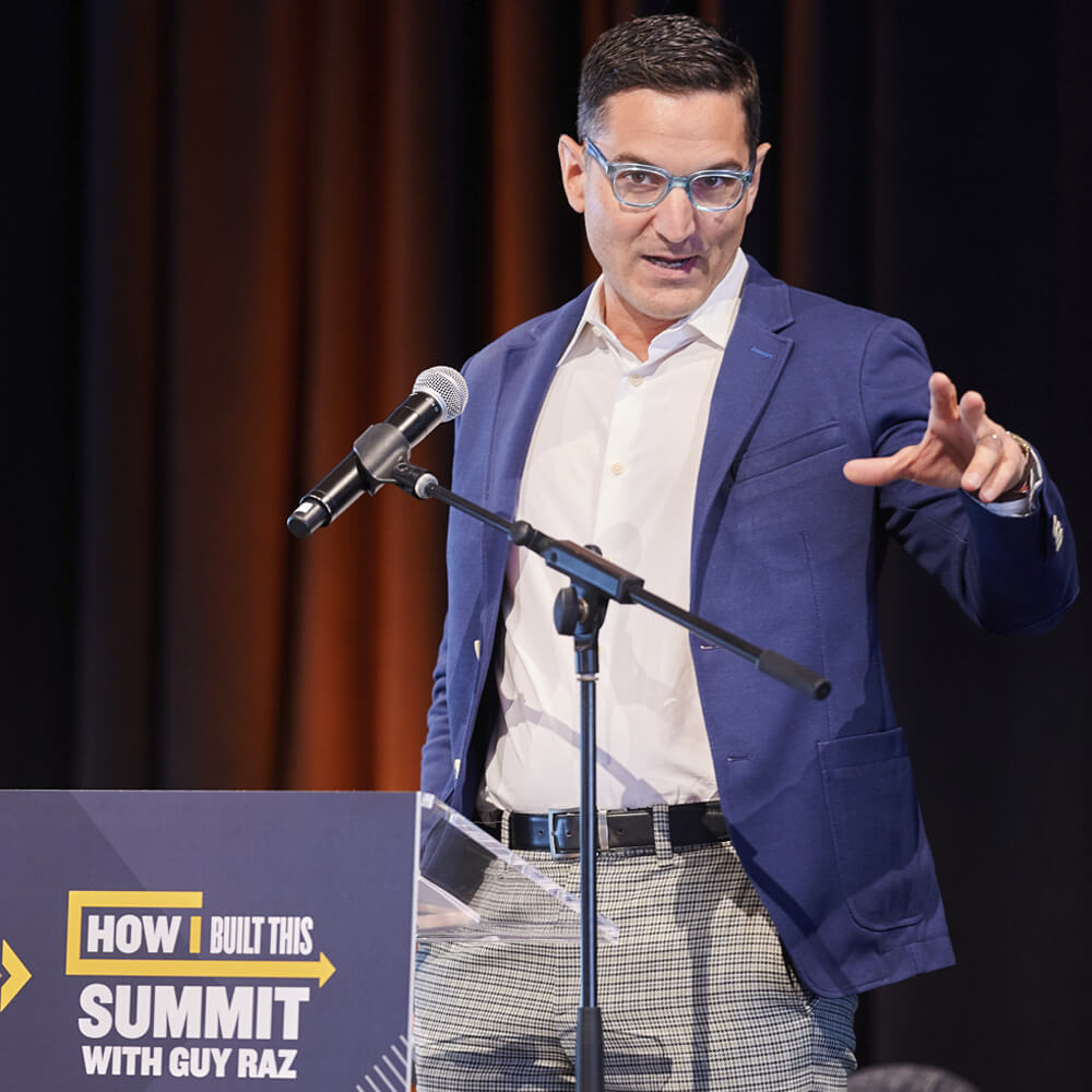 Guy Raz speaking at HIBTS