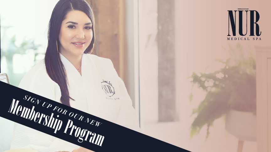 The Value of Nūr Medical Spa's  Membership Program