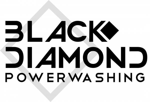 Black Diamond Power Washing Logo