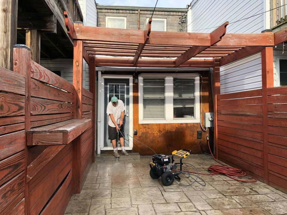 Residential decking restoration in Baltimore, MD