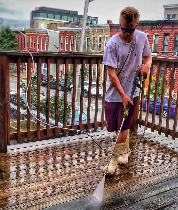 Residential decking restoration in Baltimore, MD