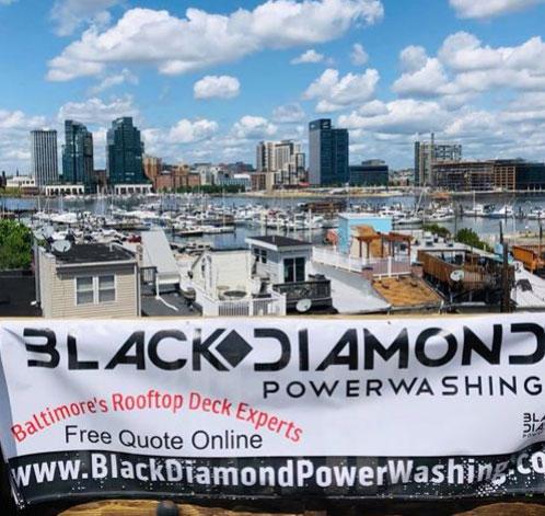 Decking restoration by Black Diamond Power Washing in Baltimore, MD