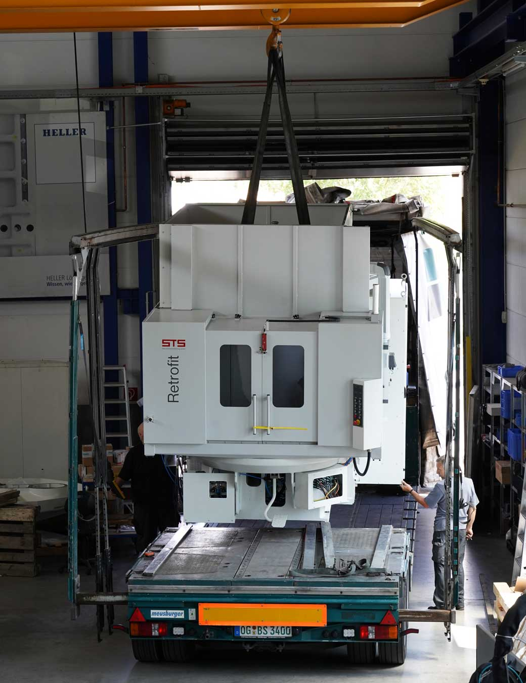 Retrofit STS logistik CNC Maschine