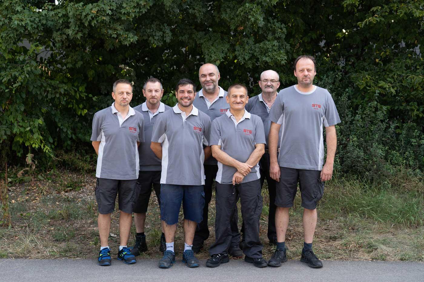 CNC Maschinen Produktion STS Team Experten