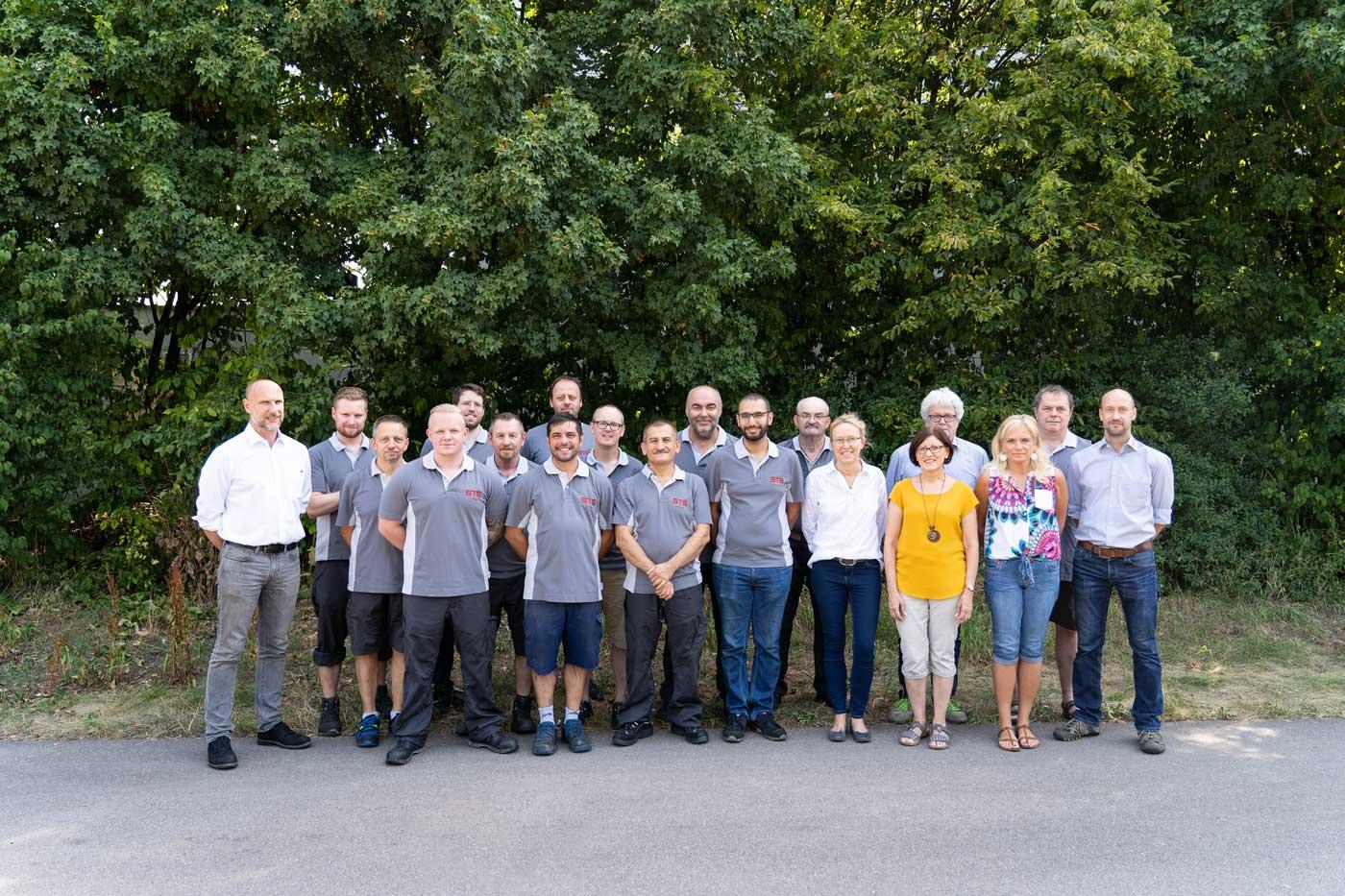 STS Team Experten Gruppenfoto
