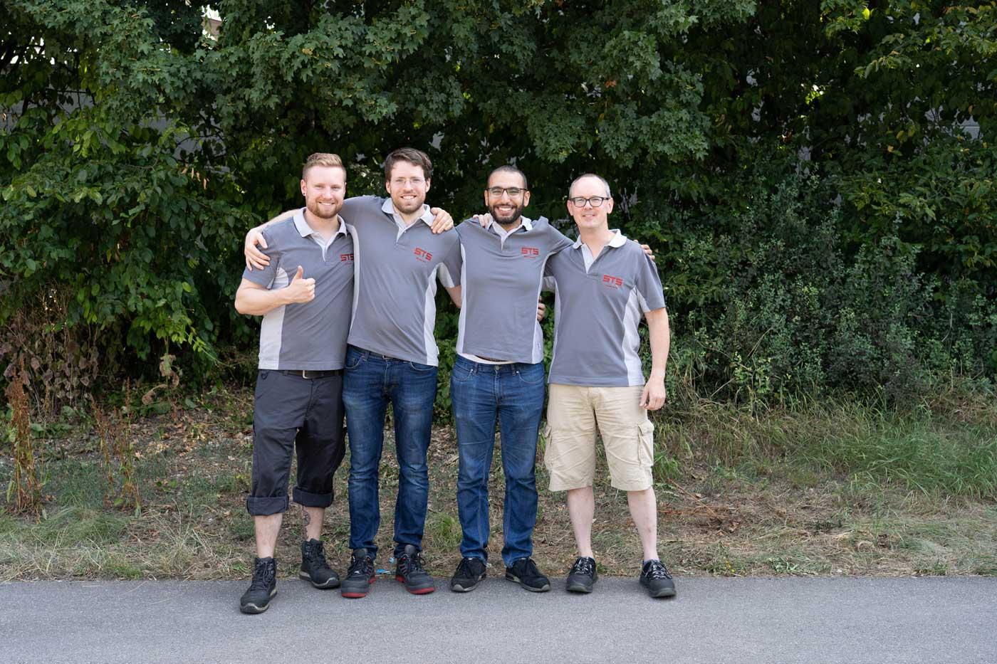 Konstruktion STS Team Experten