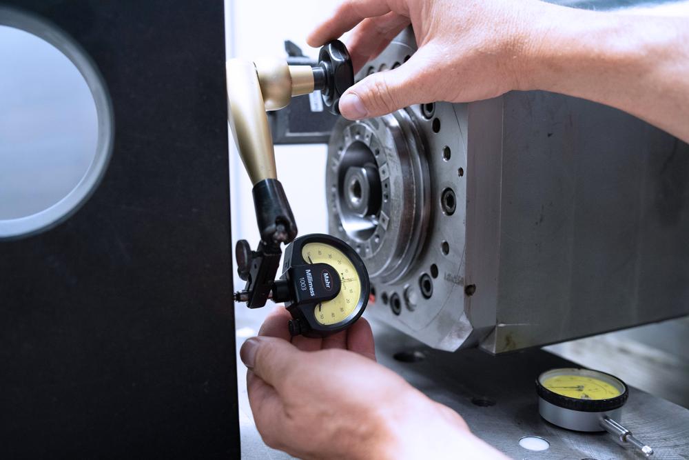 CNC Reperatur Inbetriebnahme Überprüfung