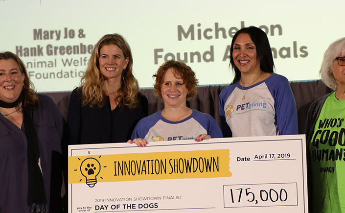 DesignGood and PetGiving at Petco Innovation Showdown